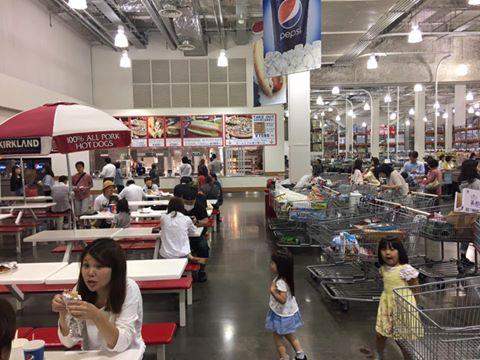 1張「好市多用餐區」的照片,看到日本跟台灣人的「水準」差異!