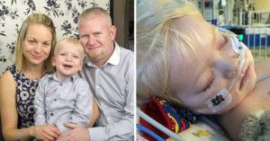爸媽忍痛讓病危3歲兒子「受洗後拔管」,「一聲爸爸」醫生都嚇到!