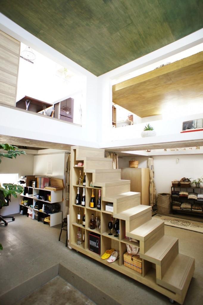 日本只有忍者才能住的家!沒牆壁全部打通內部超美但「沒買保險」別想要住!(22張)