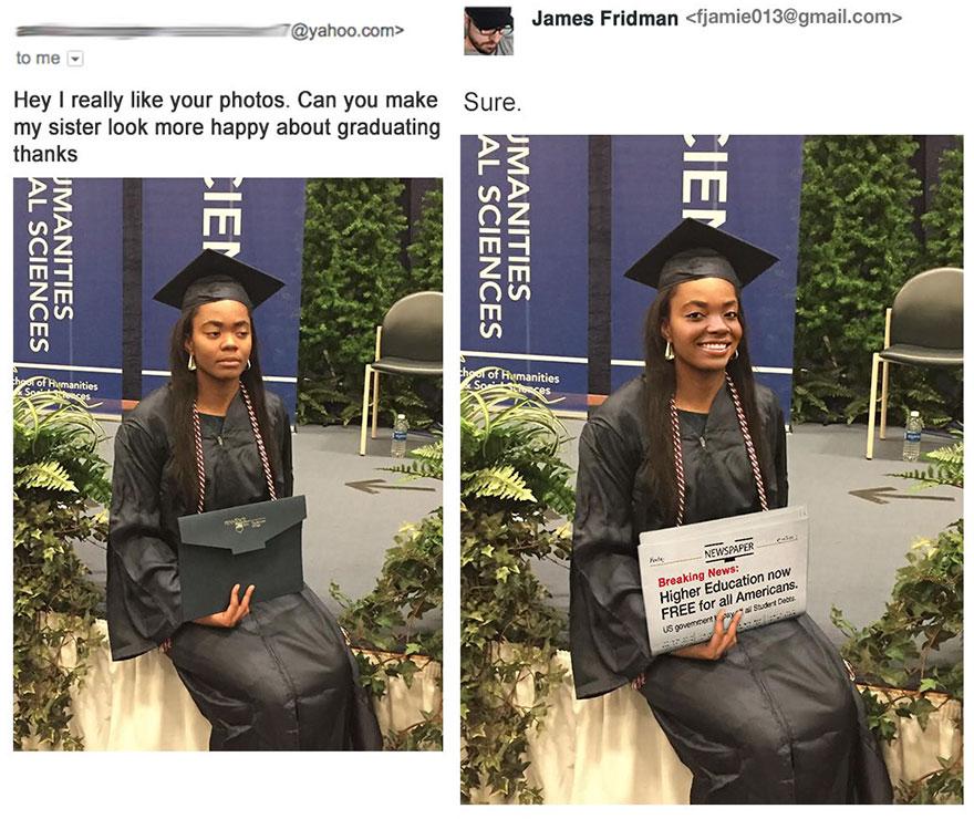 19張崩潰照片再次證明「你絕對不能找這位PS大師」幫你修圖。