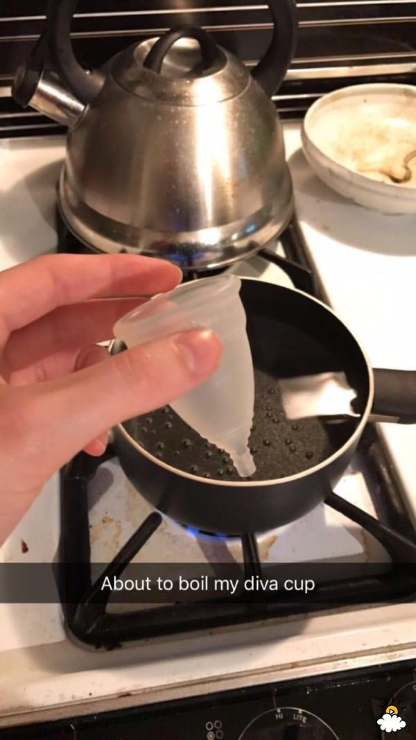 她首次使用「傳說中的月亮杯」 6天後她忍不住分享:再也不用衛生棉!