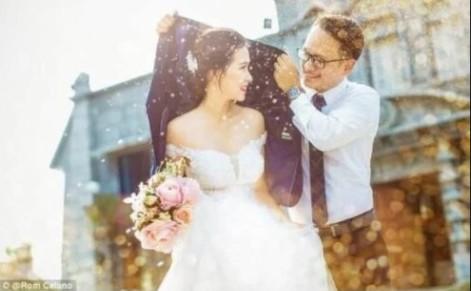 讓人羨慕的夢幻婚紗照背後的「超噁真相圖」,讓網友噴笑說:「還是算了!」