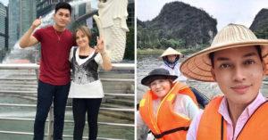 7兒女感謝60歲母「辛苦幫傭20年」撫養長大!環遊亞洲幫圓夢「收集媽媽笑容」!