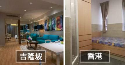 19個不同國家「用4.5萬能夠租得到的房子」,#18 台北超爽啦!