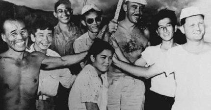 二戰時日本「1個女人和32個男人」被困在孤島,6年來為「爭奪女王」男人們下場...