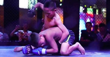 成都被爆料孤兒「鬥陣俱樂部」,訓練殘忍互毆!網友:「為他們好啊!」