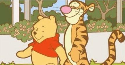 可爱无害的小熊维尼在中国惨被封杀,因为在「取笑他」!