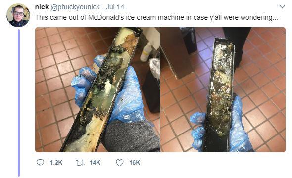 麥當勞員工親自爆料「冰淇淋機內部照」 揭密「超噁內幕」嚇傻網友:回不去了…