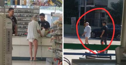 只能買4瓶喔!以為他在欺負失智爺爺,店員超暖陪他走回家瞬間逼哭現場其他客人!