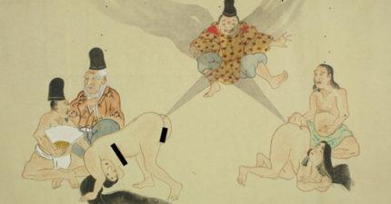 史上最委屈工作!日本古代貴族女性都會「請這個人成為她放的屁的代罪羔羊」!