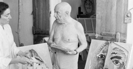 知名畫家畢卡索生前只要有人問「畫背後意義」,就會拿隨身攜帶的槍射他。