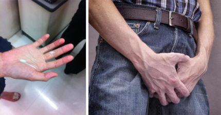 輪椅阿伯請刺青男幫忙「扶GG+捏睪丸」尿尿,下一秒「射了」...網友:「手天使4ni!」