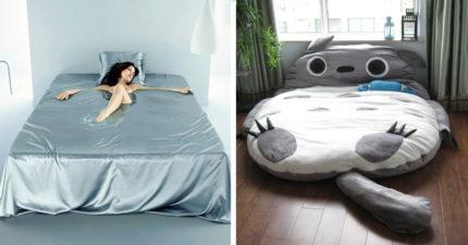14款讓你躺下去就宣告不治的「以後都不會失眠」超舒服創意床。