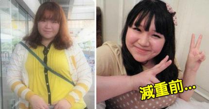 最愛的阿姨因肥胖過世,心碎的她下決心「大減60公斤」變模特兒身材超正辣妹!