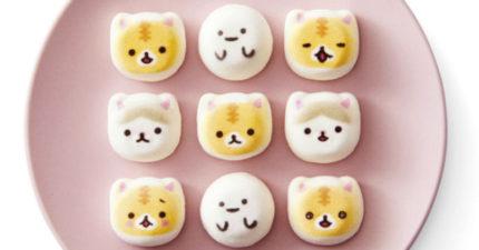 可愛到讓人不想吃的但又超可口的「小貓棉花糖」下午茶點心!造型牛角麵包可愛到翻掉! (6張)
