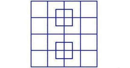 這張圖裡面「一共有幾個正方形?」目前只有8%的人能答對這到問題!