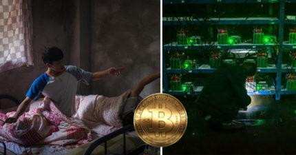 5千台電腦「同時挖礦」!直擊中國最大整棟「比特幣礦場」壯觀場景就像科幻片!礦工大會超狂!