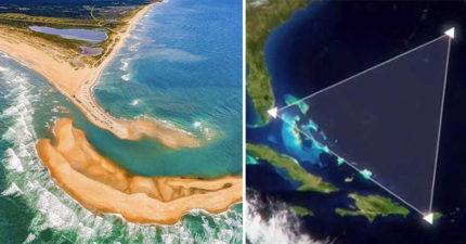 神祕的小島在「百慕達三角洲」浮出水面,科學家呼籲:「那裡太危險了!」