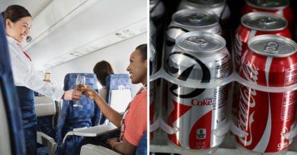 空服人員最不喜歡乘客點「健怡可口可樂」,「奧行為」原來這麼科學!