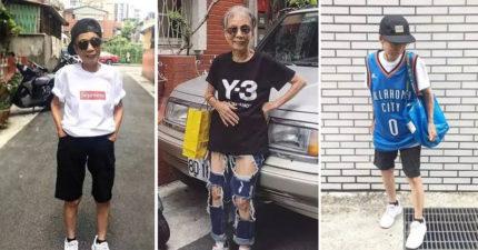地上最潮阿嬤!88歲「超狂穿搭」生活才剛開始,學英文、自拍完IG把年輕人打趴!(29張)