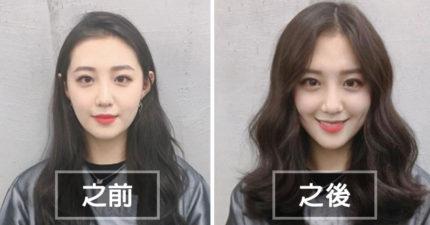 11個證明南韓不只是整形厲害的「路人變女神」超神韓國髮型前後對比照。