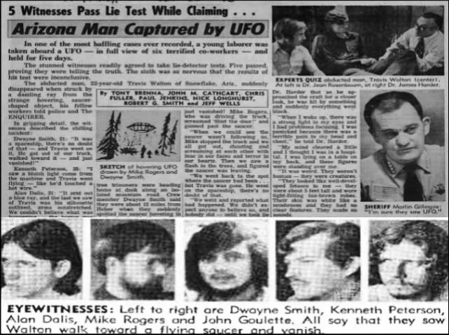 8個會推翻你所有認知的「被外星人綁架」真實案例。#8 跟外星正妹們輪流愛愛!