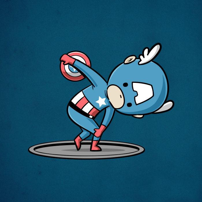 如果超級英雄「用超能力來運動」的話 這是他們最適合的項目! (11張)