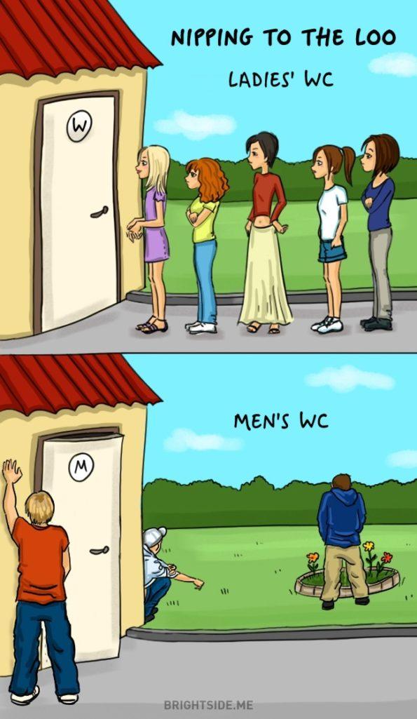 14個證明女生是來自另一個星球的生物「男女處事大不同」!