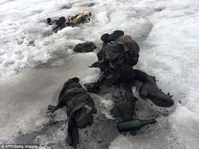 冰川融化,驚現75年前被「寒冰封印」二戰時期失蹤夫婦!79歲么女:花一輩子找爸媽