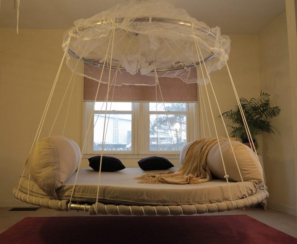 14款讓你告別失眠「躺下去就宣告一睡不醒」的超舒服創意床!
