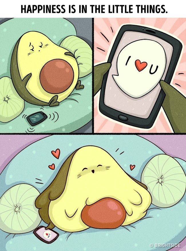 13張只有深愛對方的「命中註定情侶」才看得懂的可愛戀愛漫畫。#13 你的終極目標!