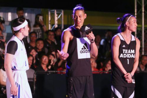 林書豪來台跟蕭敬騰帶隊進行「籃球比賽」!粉絲驚訝:「老蕭根本是音速小子!」