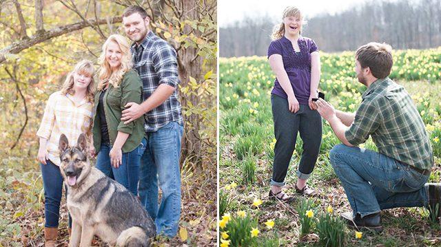 7年女友剛答應求婚,男友秒轉身又向「她」下跪!「一次娶2女」網淚推讚爆!(影片)