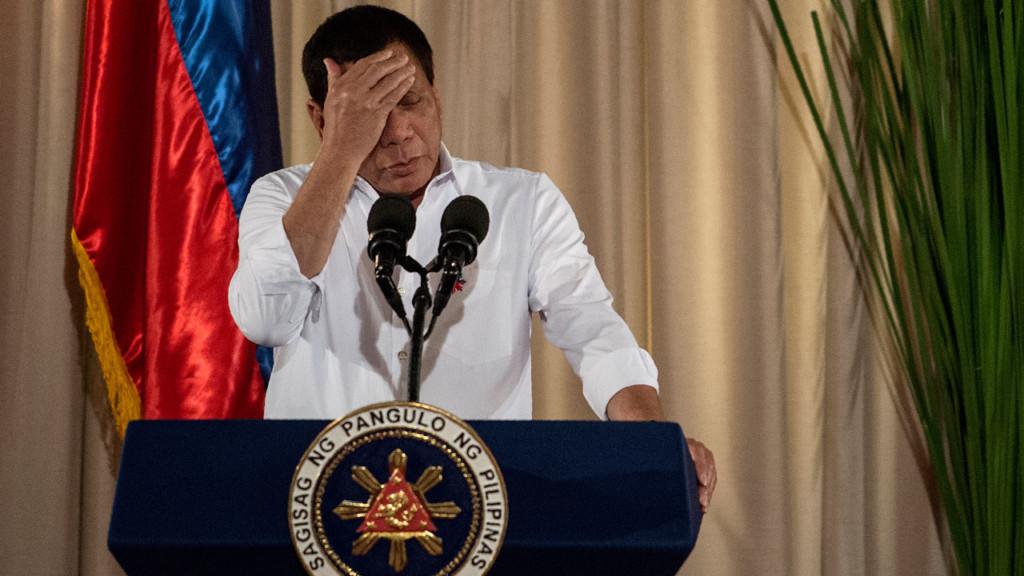 菲律賓總統再發狂言:「去強暴環球小姐,我會恭喜你!」
