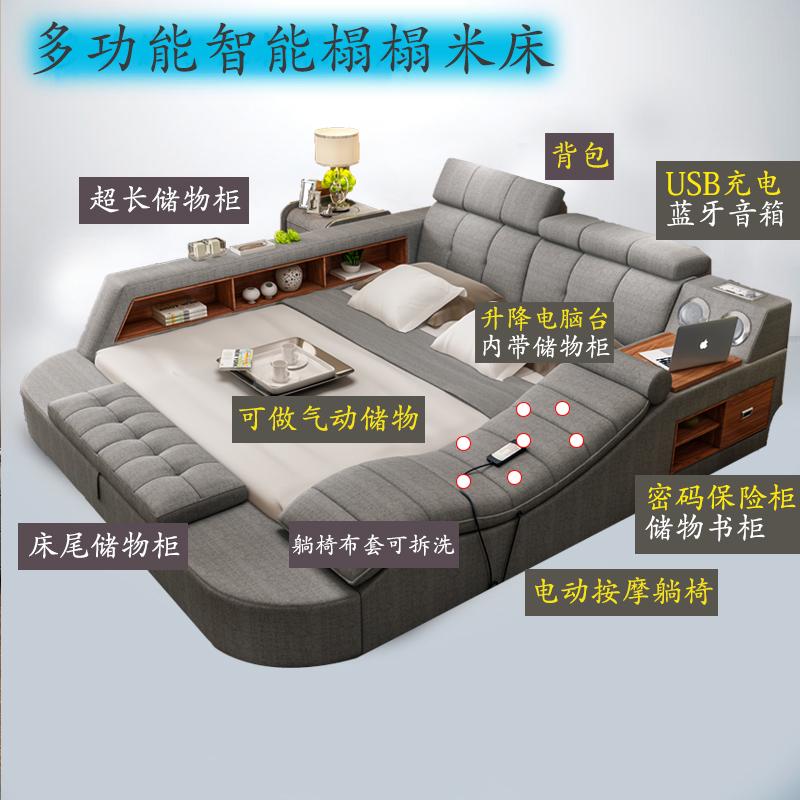 懶人必備「多功能榻榻米床」結合所有家具,舒適到想一輩子就住在上面!價格便宜到嚇人。