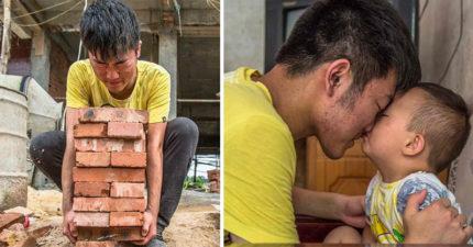 19歲男孩高考完「立刻直奔工地」拼命賺錢,唯一願望上醫學院「救3歲白血症弟弟」。