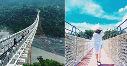 8座美到像是上帝親手打造的「台灣夢幻天空步道」,#3 情侶約會打卡必訪!