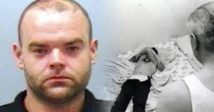 他得知6歲男童「先被另一位戀童癖蹂躪」,不救他二次強暴「痛就咬枕頭」。