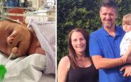 他發現4周大女兒哭聲和平常「不太一樣」,立刻抱起直衝醫院「再晚一點就太遲了」!