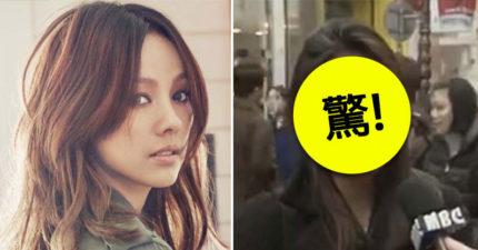 韓國女妖精李孝利出道前的「街訪」影片曝光,高中素顏模樣讓人吃驚!