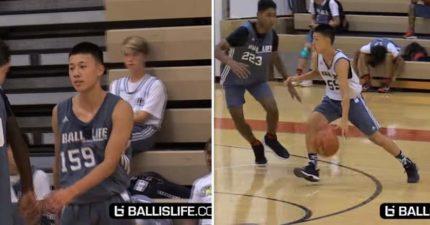 14歲同名男孩Jeremy Lin打球的氣勢比林書豪更強!以為只是同名,一開球震驚全場!