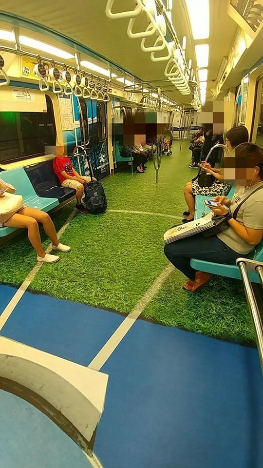除了台灣「世大運捷運」外,其他3國家足以匹敵的超創意車廂!#4 小叮噹主題超可愛!