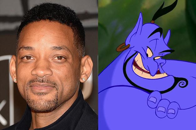 迪士尼近日宣布真人版《阿拉丁》電影,網友看到演員陣容後都傻掉了...