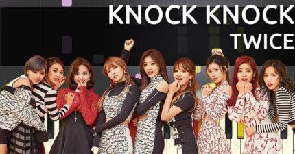 「TWICE」《Knock Knock》背景音樂被網友去掉,幾乎清唱的版本讓大家嚇到!