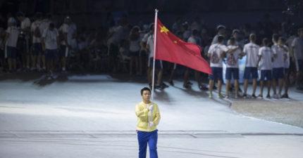中國抵制蔡英文,世大運開幕典禮「中國隊這樣出席」...
