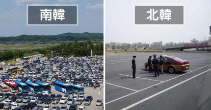 他到南北韓旅遊拍照,拍下「2個不同的時空...」。#6 北韓大學跟台灣好像! (7張+影片)