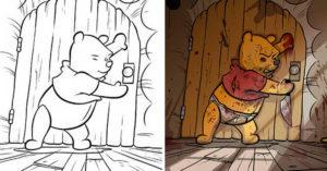 30張絕不該把兒童著色本給大人的「兒童不宜爆笑著色本畫作」...回不去了!