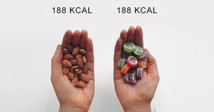 14組「健康食品 VS 垃圾食物」打破你的減肥迷思。健身證實:「吃得爽最重要」!
