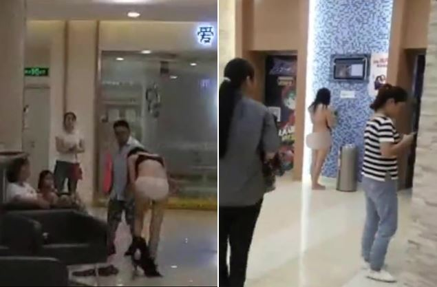 前夫嗆「妳衣服也是我買的」,她霸氣在眾人面前「馬上脫光還他」!(影片)