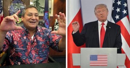 北韓攻打關島危機,川普和關島總督超開心:「打完後入住率會110%!」